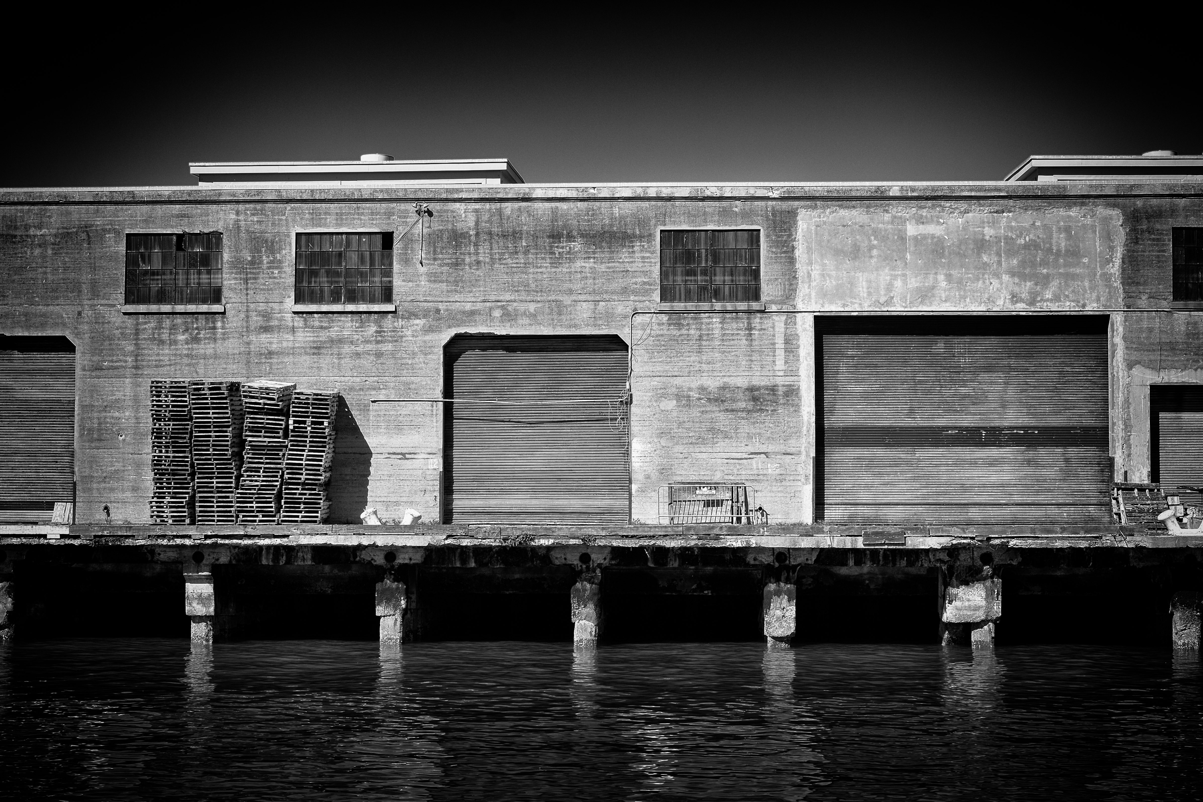 Storage by the sea