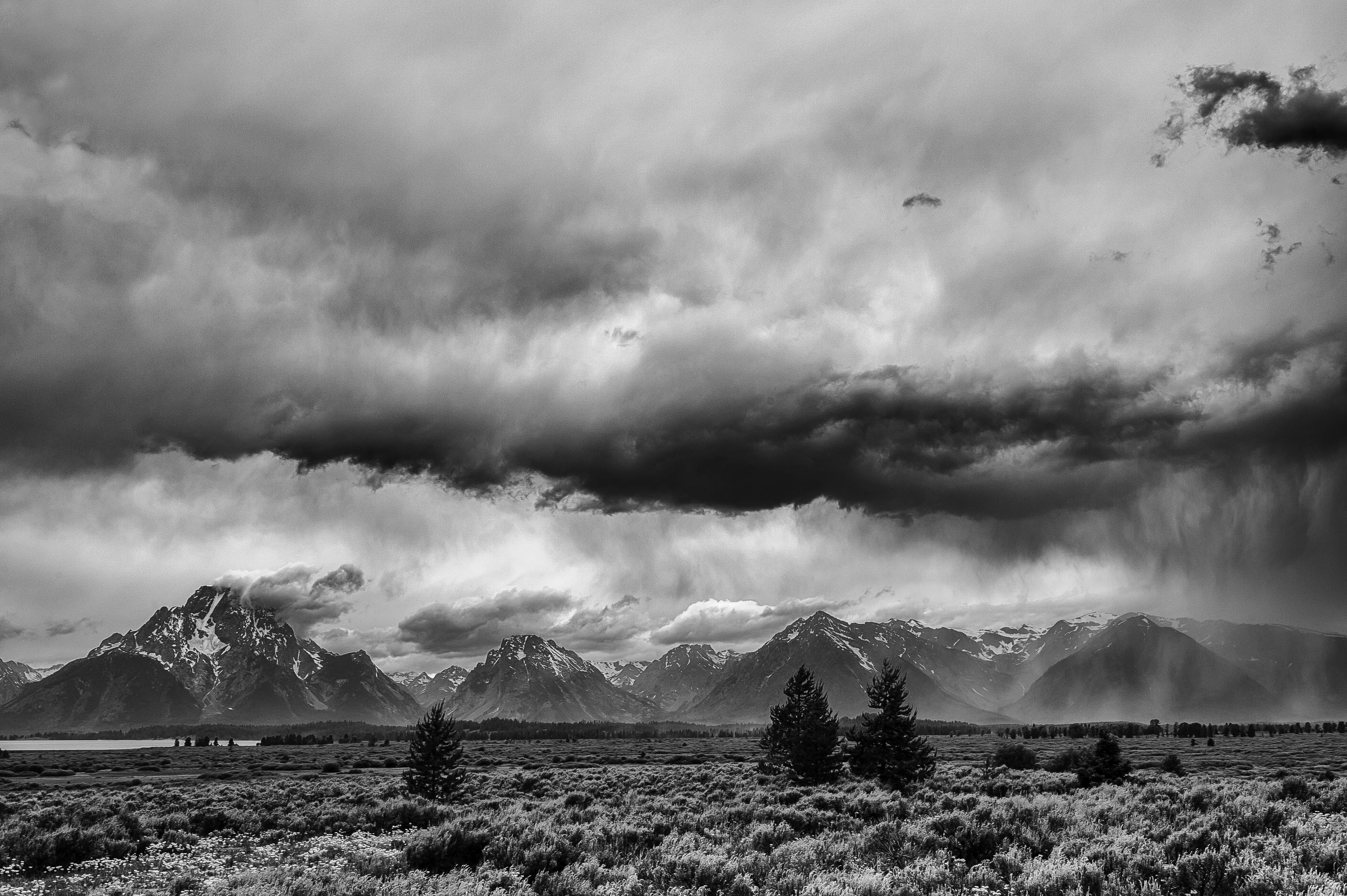 Summer Storm in the Tetons