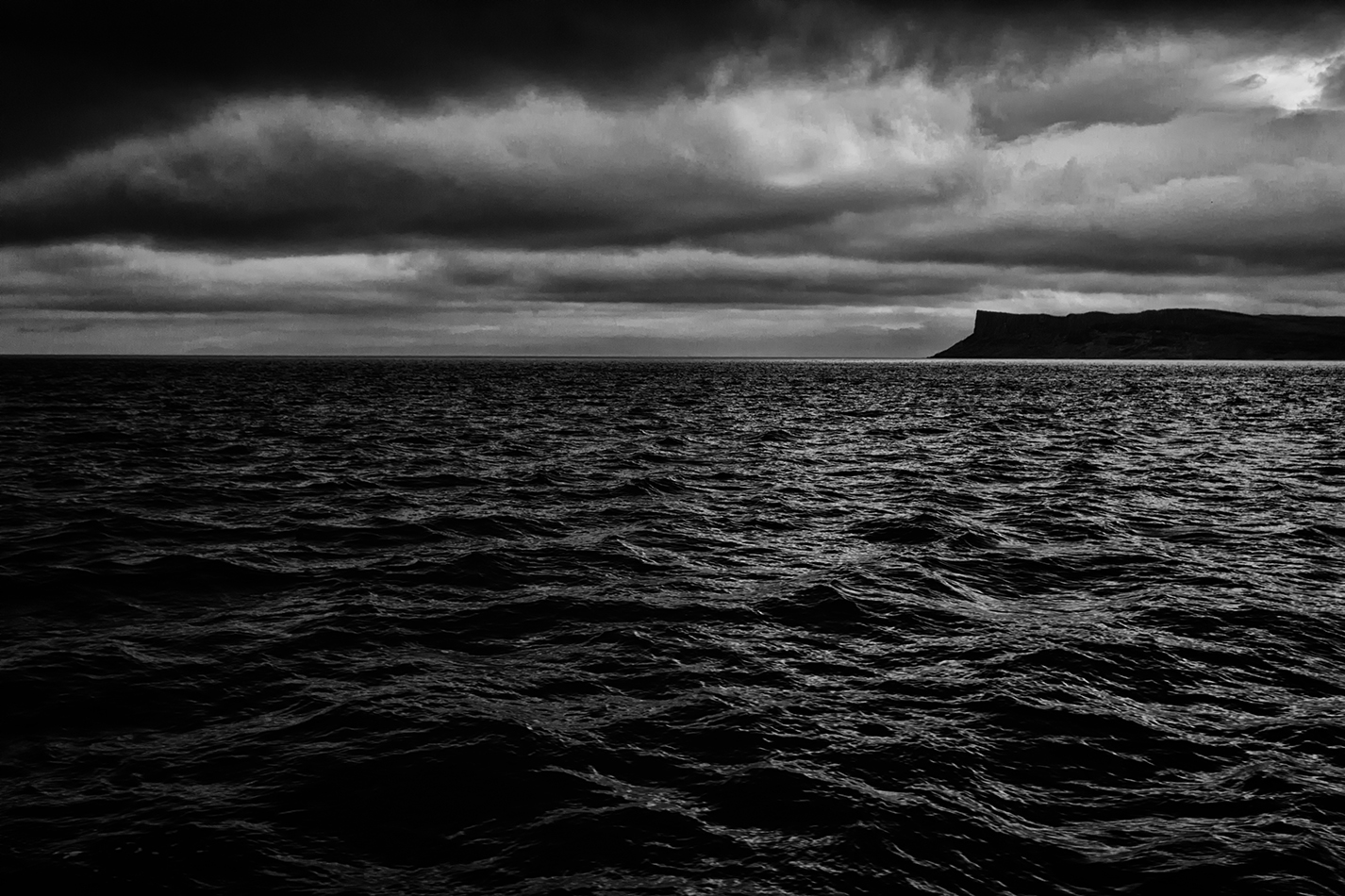 torr head from the sea B&W digital photo pro entry