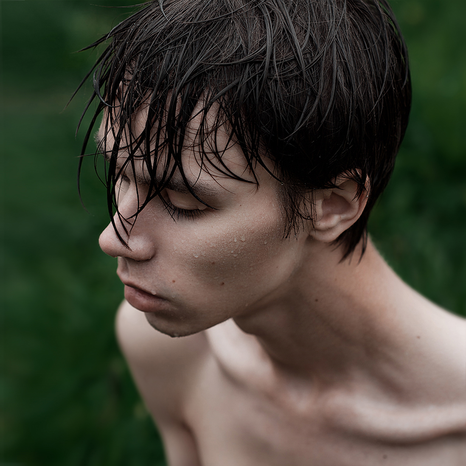 wet portrait
