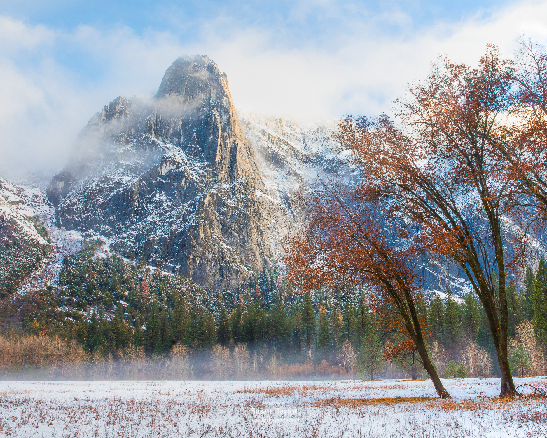 From Autumn To Winter In Yosemite Valley