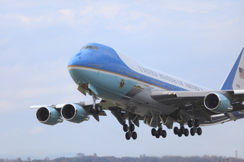 Air Force One Take Off