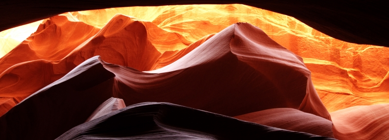 Another View Of A Slot Canyon