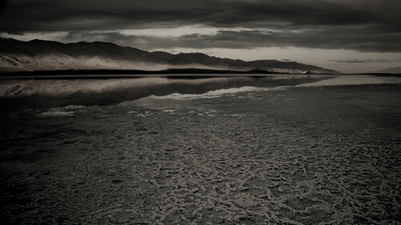 Badwater Reflection