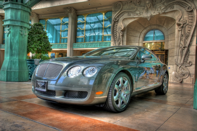 Bentley At Paris-Las Vegas Valet