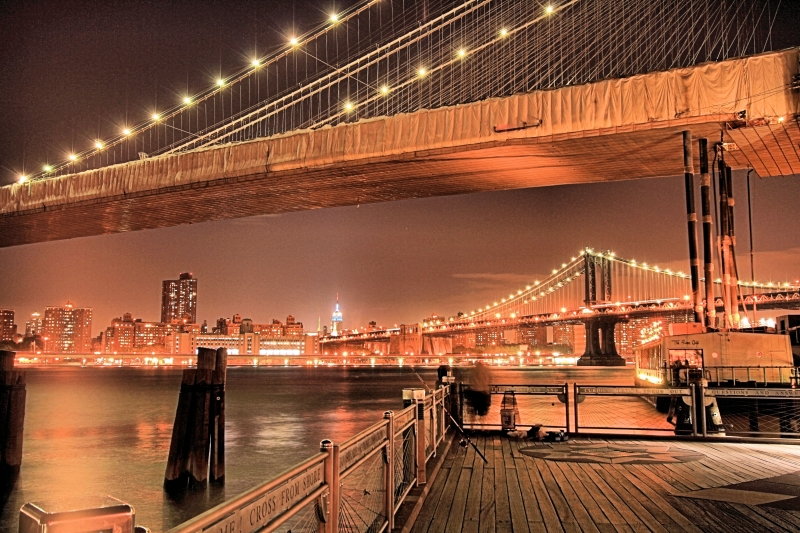Brooklyn & Manhattan Bridge