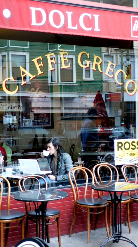 Cafe Greco- San Francisco 2011