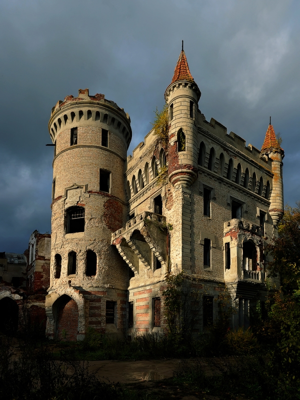 Castle In The Moscow Suburb