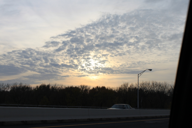 Day Light Fall By Mass Pike