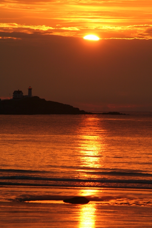 Daybreak Over Nubble