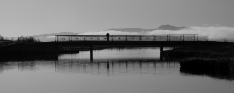 Man On Bridge
