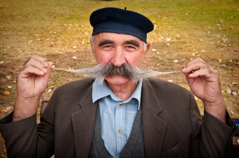 Man With His Mustache, Serbia