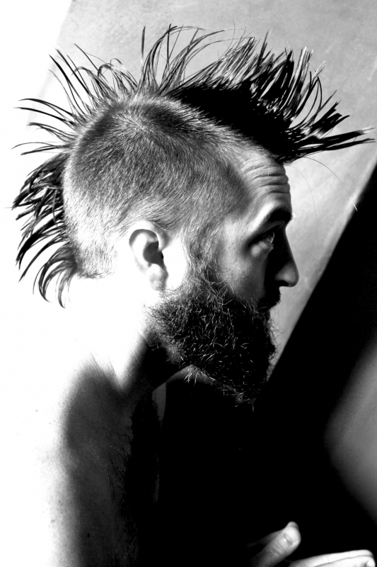 Nothing But Beard And A Mohawk