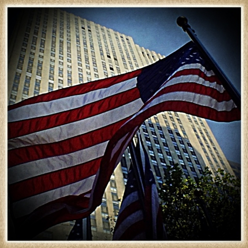 Old Glory Waves On