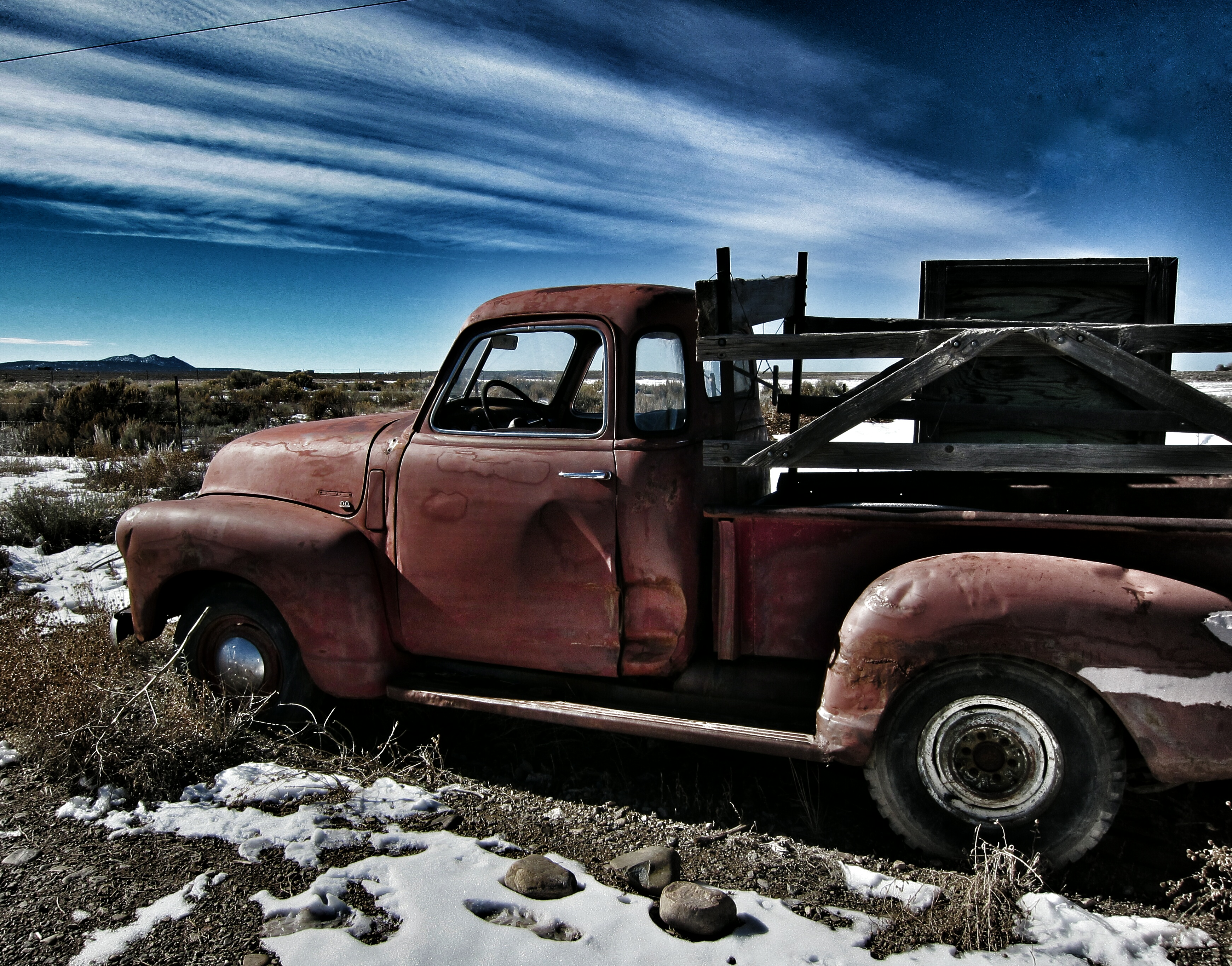 Old Truck, New Mexico