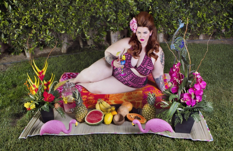 Tess Munster Summer Swimsuit Editorial 4