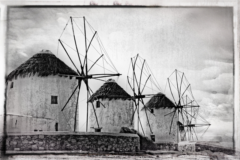 Windmill's Of Mykonos