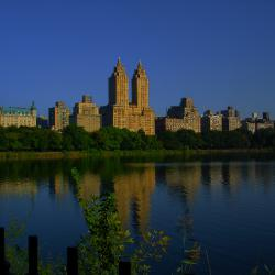 Quiet Dawn, Central Park Reservoir