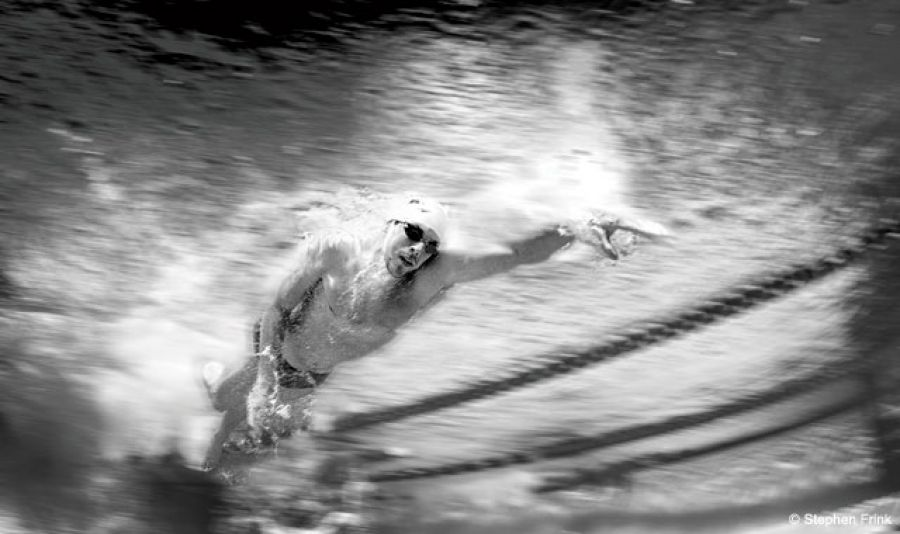 "When Canon Explorer Of Light and professional underwater photographer Stephen Frink worked on an ESPN show with U.S. Olympic swimmer Matt Biondi, he started to think about what it takes to get to the top of a sport like swimming and compete in the Olympics. Says Frink, ""To have that kind of physicality and discipline, there's so much that's given up."" Before the 2012 Summer Games, Frink set out to create a unique and comprehensive look at some of America's top swimmers from a decidedly different perspective."