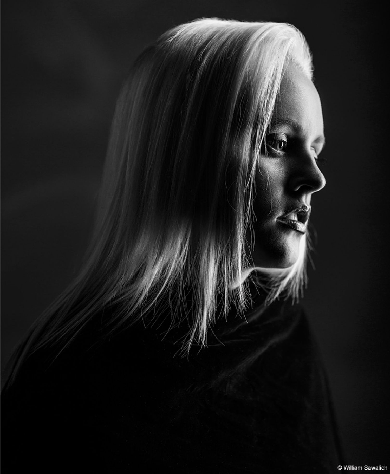dramatic studio lighting. Low-Key Black \u0026 White Portrait Lighting Dramatic Studio I