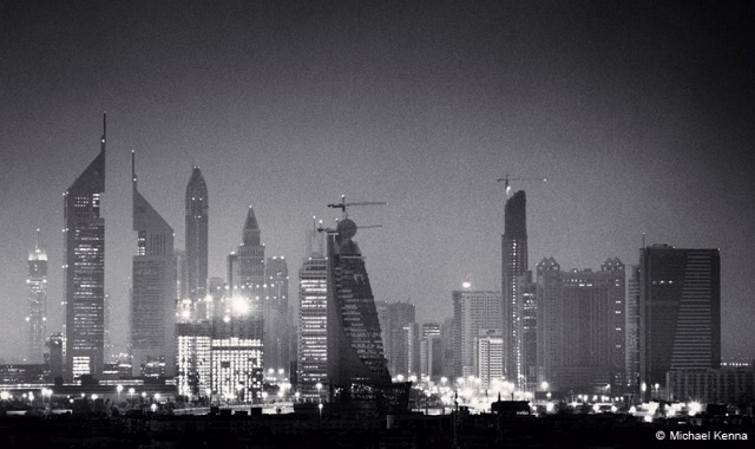 Skyline, Study 1, Dubai, United Arab Emirates (2006)