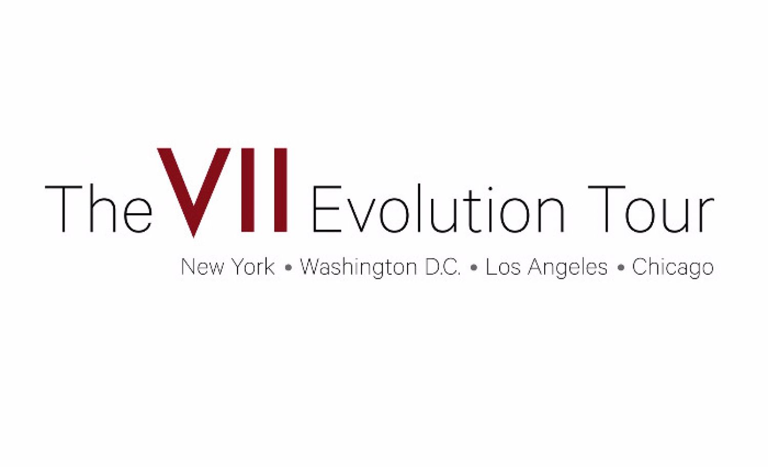 The VII Evolution Tour