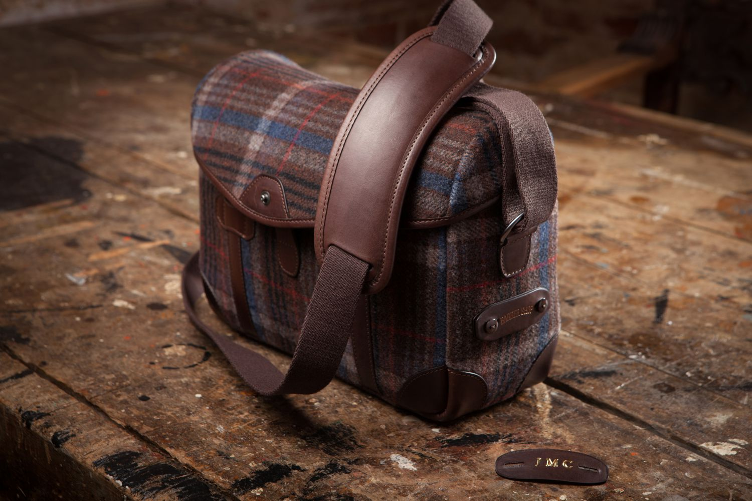 Tweed Pageboy Added To Barber Shop Bags Collection
