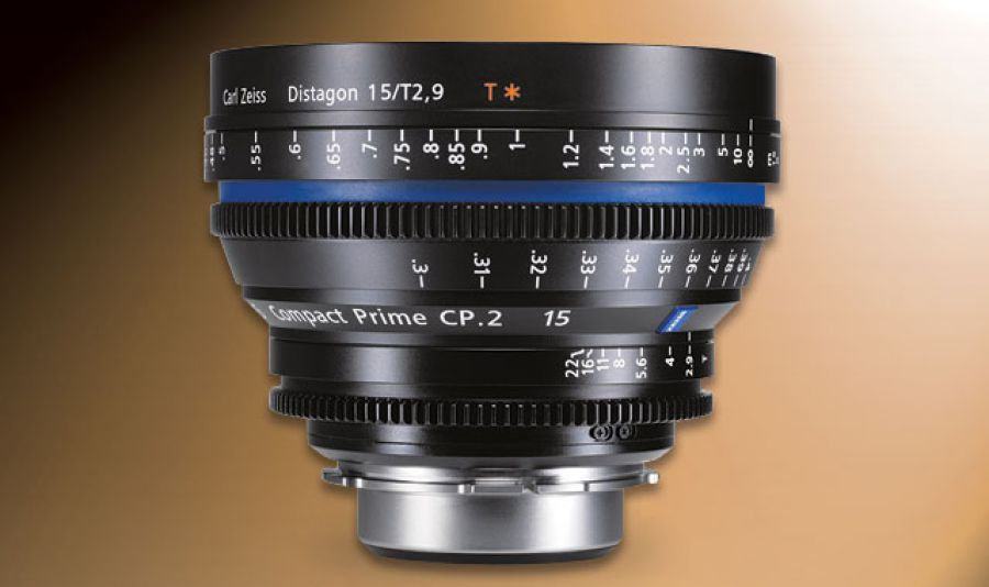 The Zeiss Compact Prime CP.2 15mm/T2.9 is ideal for still and motion.