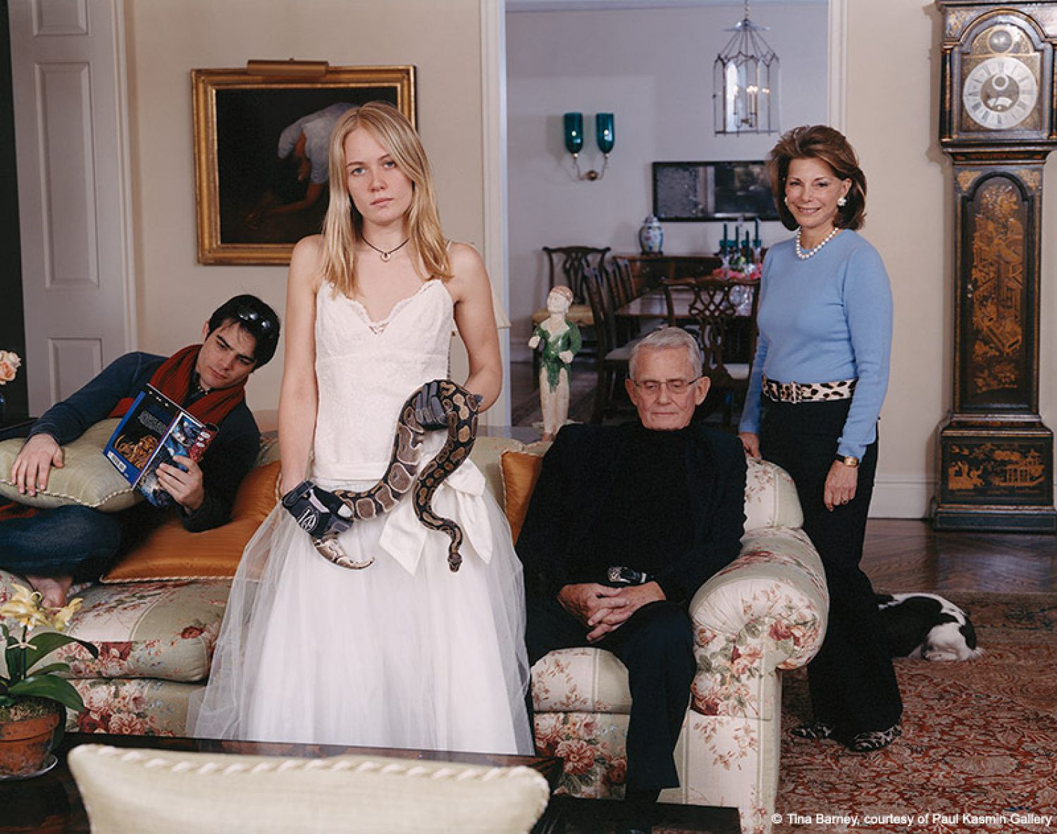 Family Commission with Snake (The Waterfalls), 2007 chromogenic color print